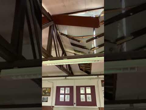 Stormschade Kleindierencentrum Zuiderpark, Stormschade Kleindierencentrum Zuiderpark