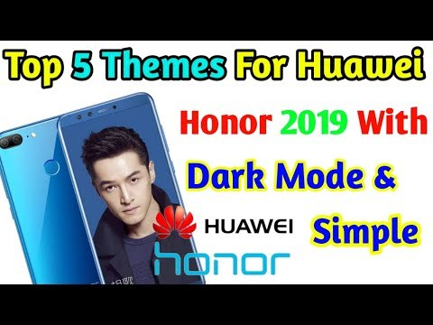 Emui 9 0 theme for Honor devices - Myhiton