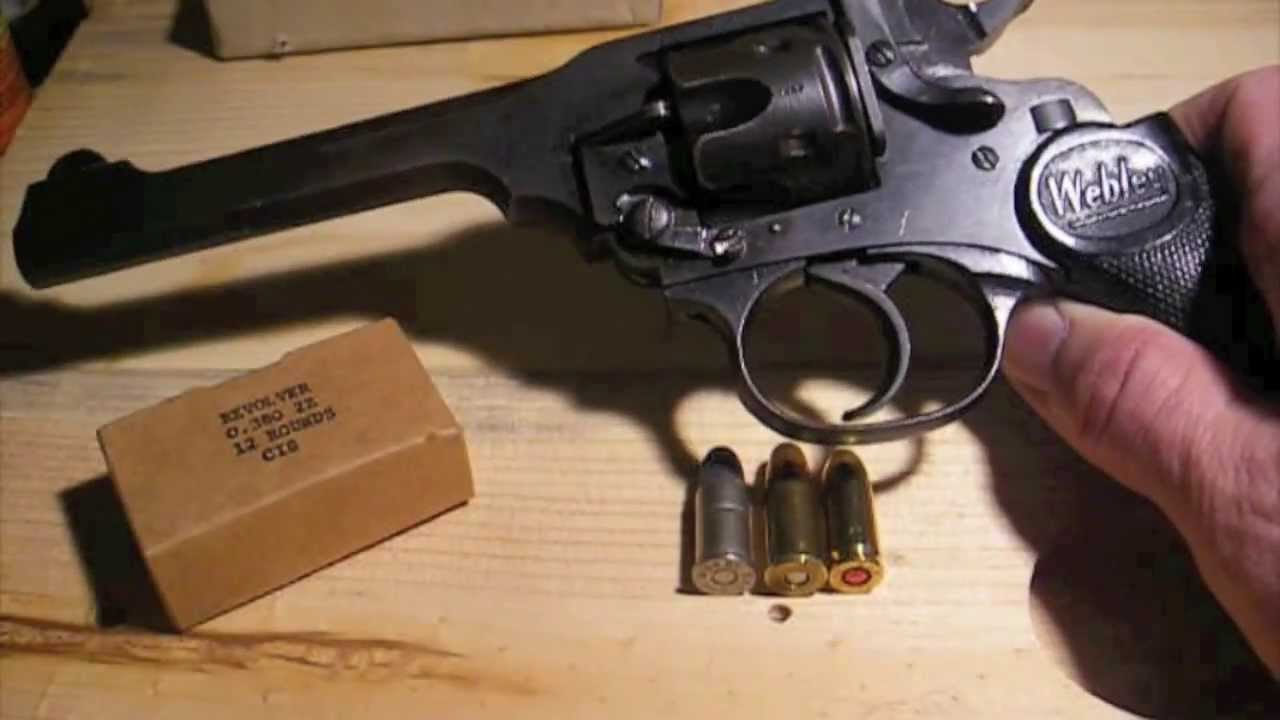 Webley Mark IV Close-Up w/ Range Report & Holster  38 S&W