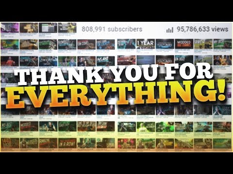 THANK YOU MY YOUTUBE FANS FOR CHANGING MY LIFE!