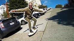 2 WHEEL SKATEBOARD!!!!