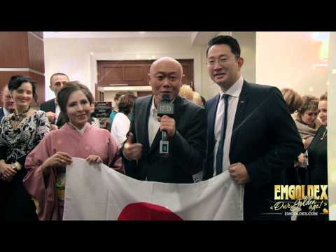 Emgoldex St. Petersburg GOLDEN AGE - Gold business for all world! Ken Akahori