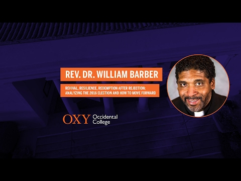 Rev. Dr. William Barber II at Occidental College