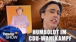 Albrecht Humboldt in der CDU-Wahlkampfzentrale | heute-show vom 27.01.2017