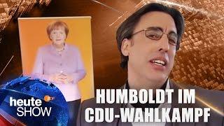 Albrecht Humboldt in der CDU-Wahlkampfzentrale