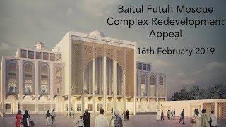 Baitul Futuh Complex Redevelopment Appeal