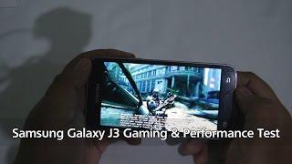 vuclip Samsung Galaxy J3 2016 Gaming Review - FIFA 16, Real Racing 3, NOVA 3, Antutu