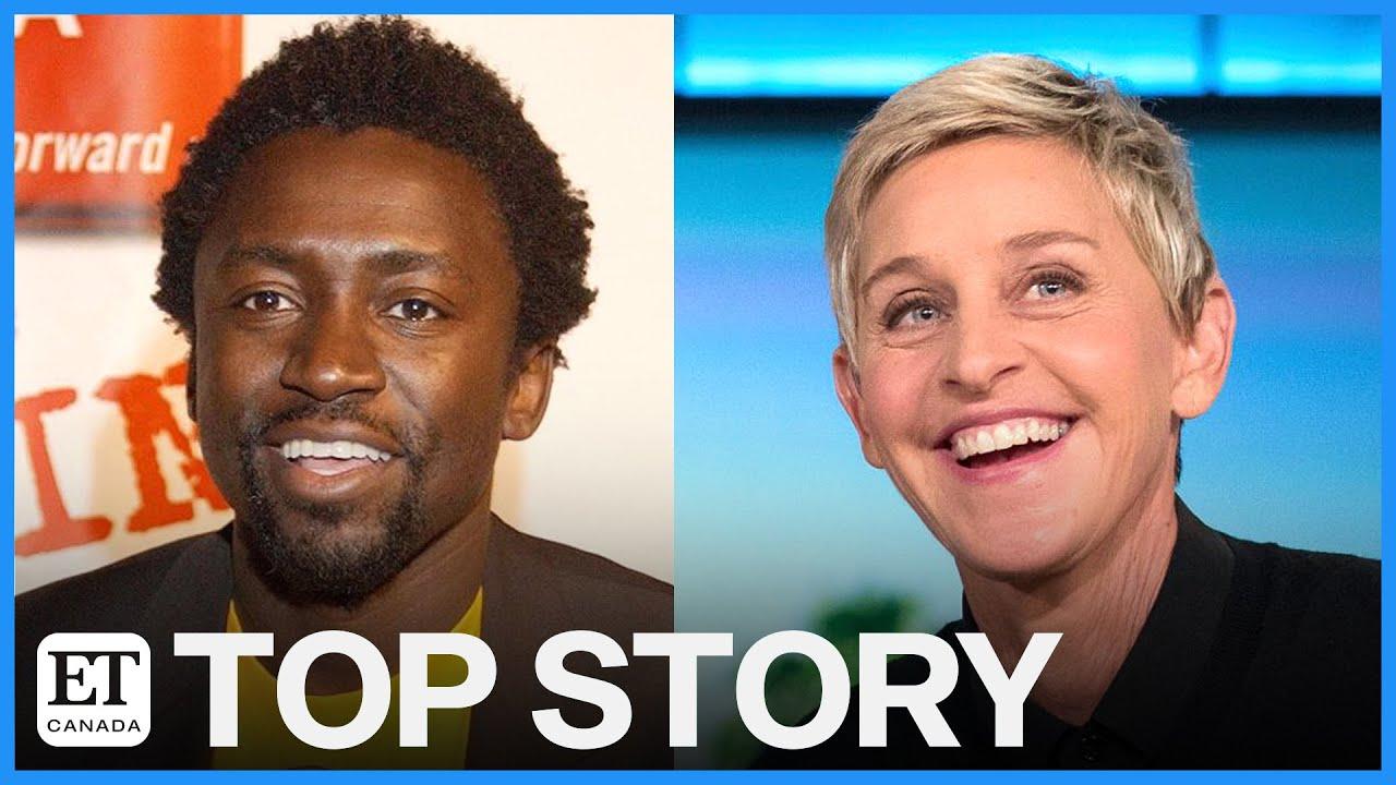 Ellen DeGeneres' Former DJ Tony Okungbowa Backs Staff, Ashton Kutcher & More Defend Her