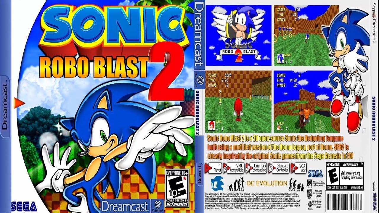 Sonic robo blast 2 download rom | [Release] Sonic Robo Blast 2 for