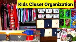 Tricks to Organize Kids Clothes on BUDGET | Kids Closet Organization on BUDGET | ART OF HOMEMAKING