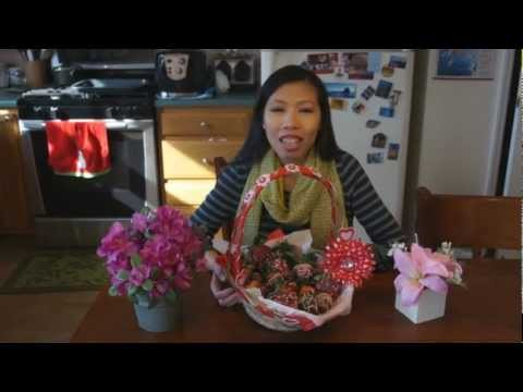 Chocolate Covered Strawberries - How to Make - Valentine's Day Treat