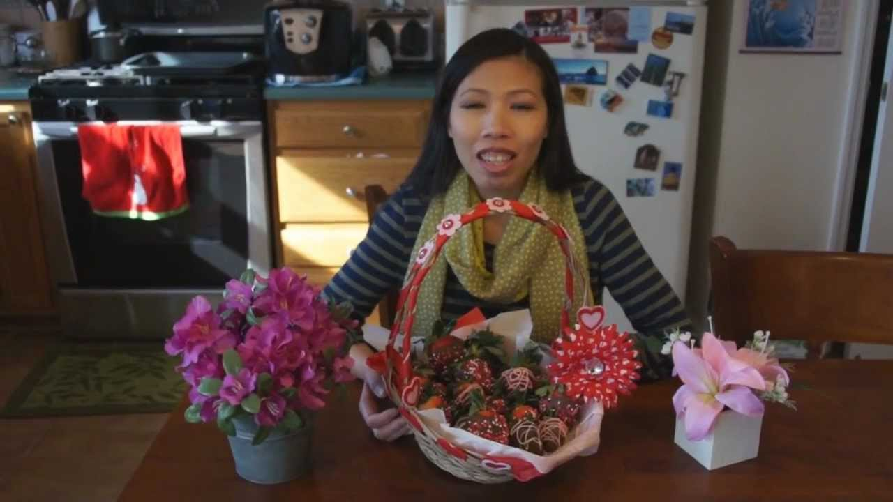 Chocolate Covered Strawberries How To Make Valentines