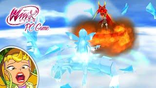 Winx Club PC Game #19 | BLOOM VS ICY 😱 Batalla Dragones Hielo y Fuego!!