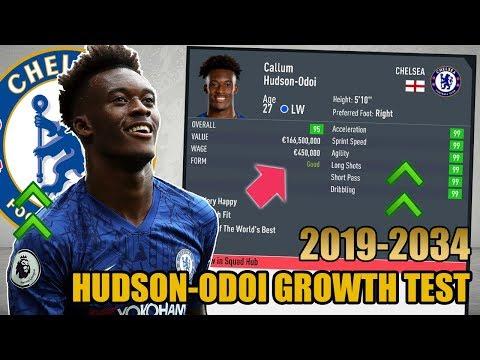 CALLUM HUDSON-ODOI GROWTH TEST (2019-2034) - FIFA 20 Career Mode
