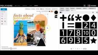 Polyvore Tutorial: How I Make My Tips