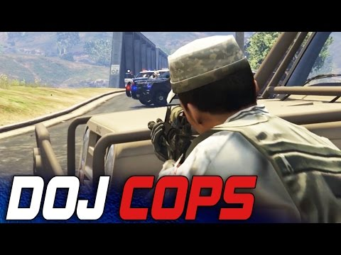 Dept. of Justice Cops #12 - The Standoff! (Criminal)