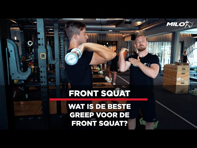 Gripvariaties Front Squat