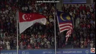 28th Sea Games Singapore 2015 Went Malaysia National Anthem
