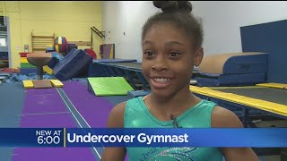 Girl's Dream Comes True Meeting Olympic Gymnast Gabby Douglas