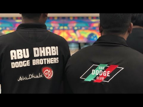 Dodge Club UAE`s Drive to Abu Dhabi for Bowling at Zayed Sports City