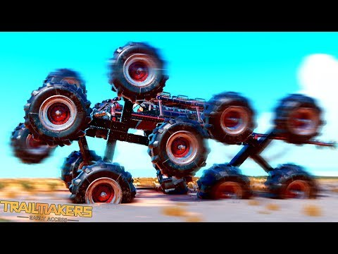 Craziest Wheels That Elon Musk Wishes He Invented... - Trailmakers Early Access Gameplay