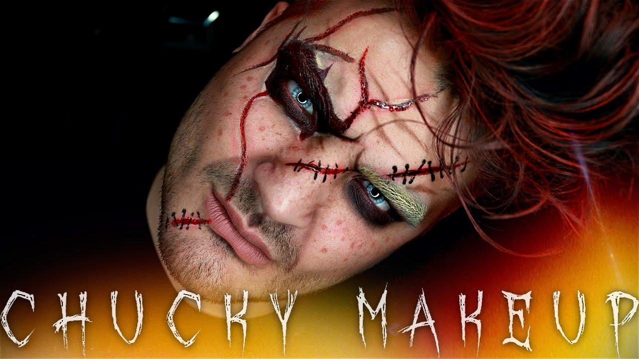 Chucky Halloween Makeup Tutorial | Jordan Hanz | 31 Days of ...