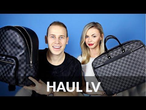 Męskie rzeczy Louis Vuitton: haul, recenzje + co warto kupić?