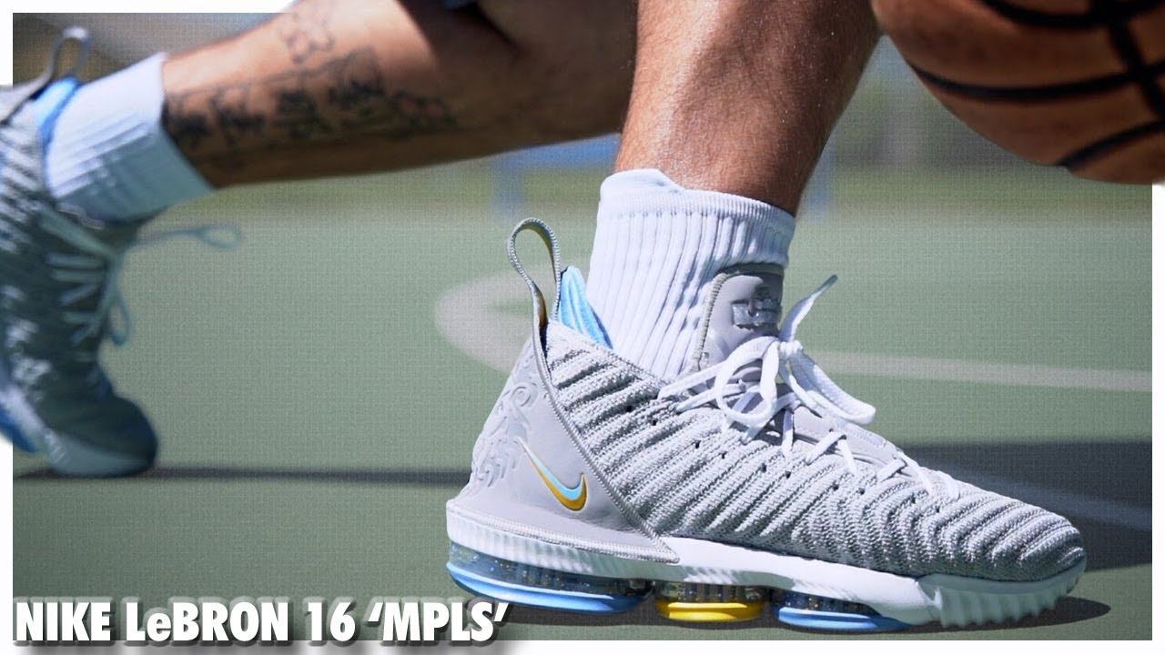huge selection of a8172 d88b3 Nike LeBron 16 MPLS | Detailed Look and Review - WearTesters