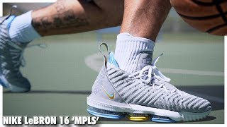Nike LeBron 16 MPLS   Detailed Look and