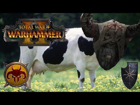 THE DREAD COW - Beastmen vs Chaos | Total War: Warhammer 2 |