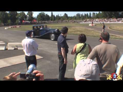 La Bugatti Royale et la Bugatti Veyron font la Course sur l Autodrome de Mulhouse