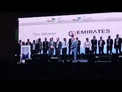 WCA world congress @ Singapore , EMIRATES LOGISTICS LLC is chosen as best partner in Middle East