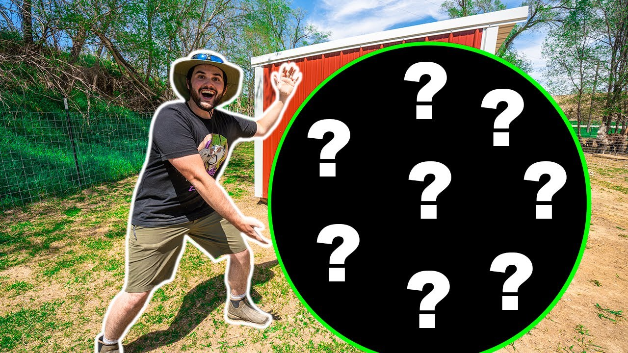 I Bought a GIANT SURPRISE MYSTERY Animal for My BACKYARD FARM!!! (Bonzo was PISSED)
