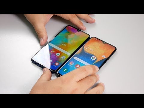 СРАВНЕНИЕ | Samsung Galaxy A20 Vs Galaxy M20