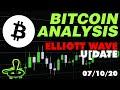 Bitcoin Analysis 7/10/20 - Elliott Wave Update