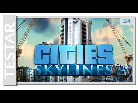 Testar Cities: Skylines (Swedish)