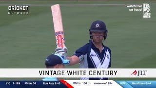 White-hot veteran posts another ton for Victoria
