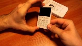 Обзор телефона IFcane E1