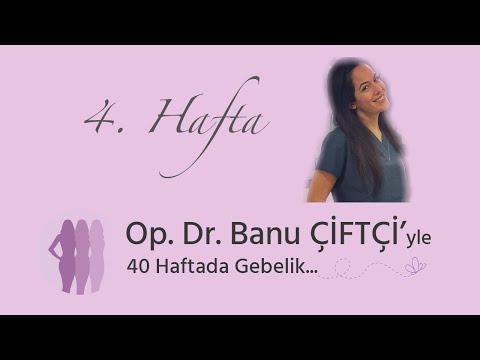 Op. Dr. Banu Çiftçi'yle 40 Haftada Gebelik - 4.Hafta