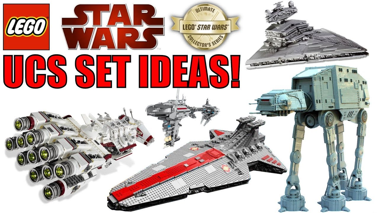 Lego Star Wars Ucs Set Ideas Ucs Venator Ucs At At Ucs A Wing