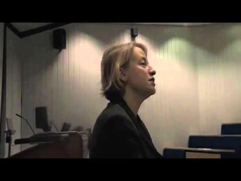 Natalie Bennett, Green Party leader, at Durham University