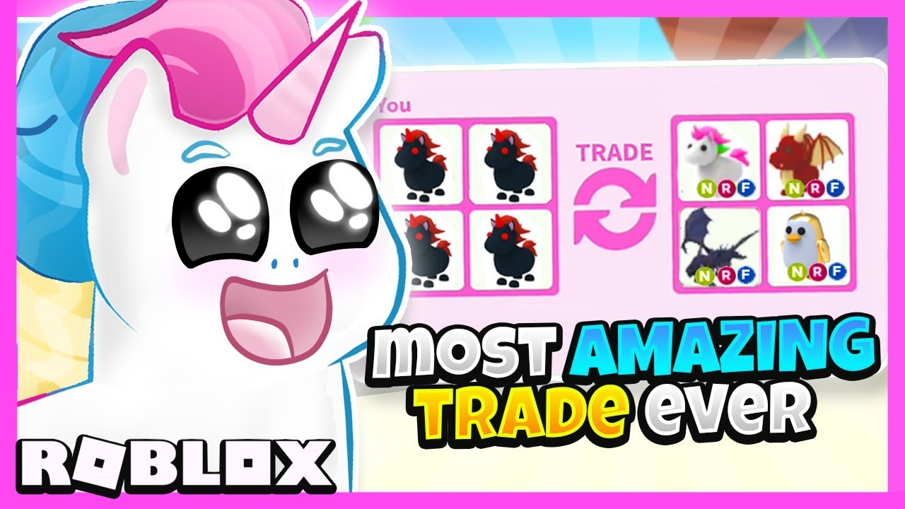 I Traded Only LEGENDARY EVIL UNICORNS in Adopt Me for 24 ...