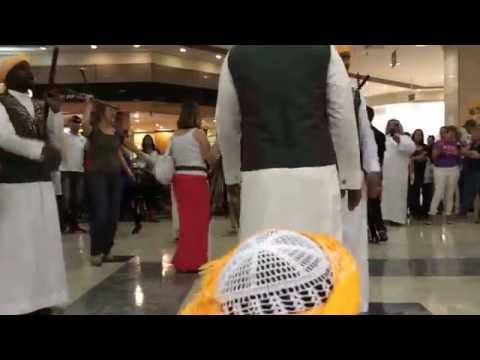 saudi friends in sao paulo brazil dance in mall1
