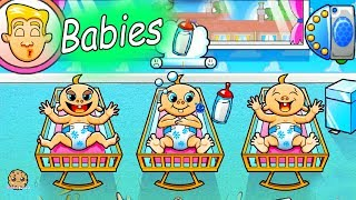 Taking Care Of Babies Roblox + Online Baby Games Cookie Swirl C Let's Play