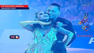 SEA Games 2019: Single Dance Rumba — PH performance on Dancesport Video