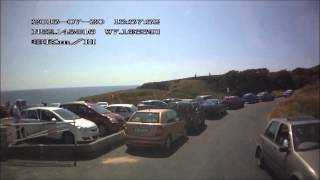 Newtown Cove near Tramore Waterford Ireland Saturday 20th July 2013 DOD GS600 GPS dashcam