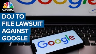 U.S. Justice Department to file lawsuit against Google