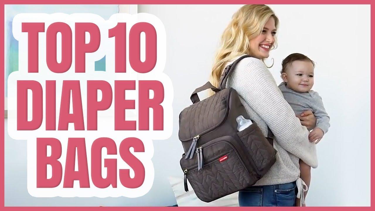 Best Diapers 2020 Best Diaper Bag 2020   TOP 10 Diaper Bags   YouTube