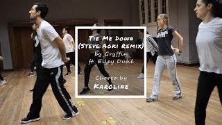 FuNkoLoGy Classes Tie Me Down (Steve Aoki Remix) Choreo by Karoline 20190205
