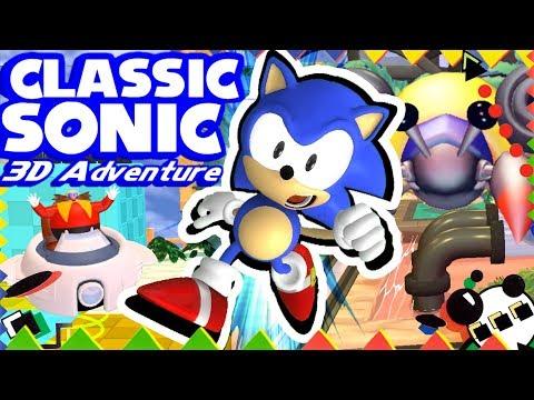Играем в фан-игры — Classic Sonic 3D Adventure